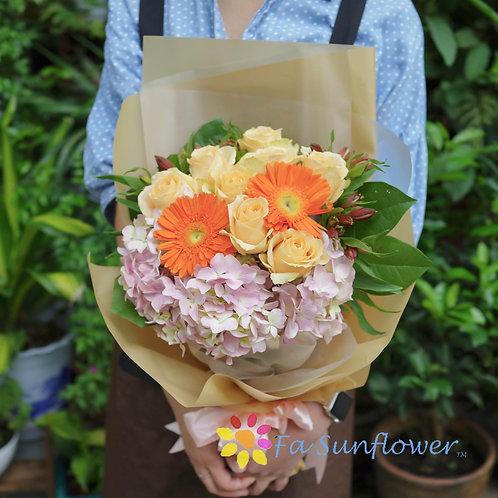 Champagne Orange Bouquet 香檳橙花束 CHOR1