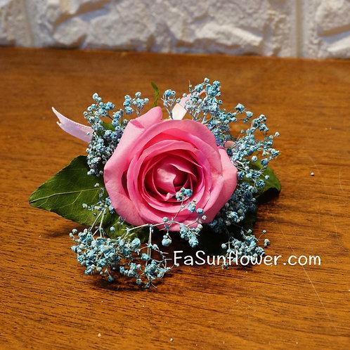 四個鮮花襟花套裝 Rose corsage x4 RKF01
