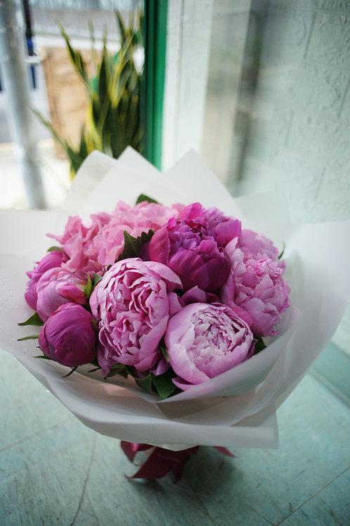 牡丹花束 Peony bouquet PKPEONY (需先向我們查詢)