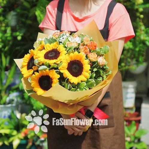 向日葵花束 Sunflower bouquet SF502