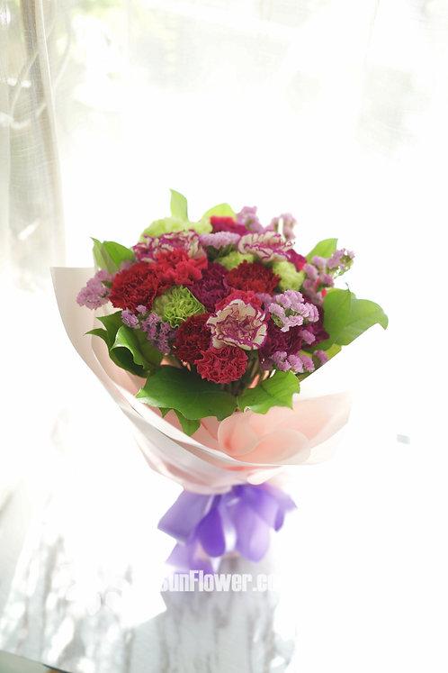 Mother's Day 康乃馨花束 Carnation bouquet MDB2