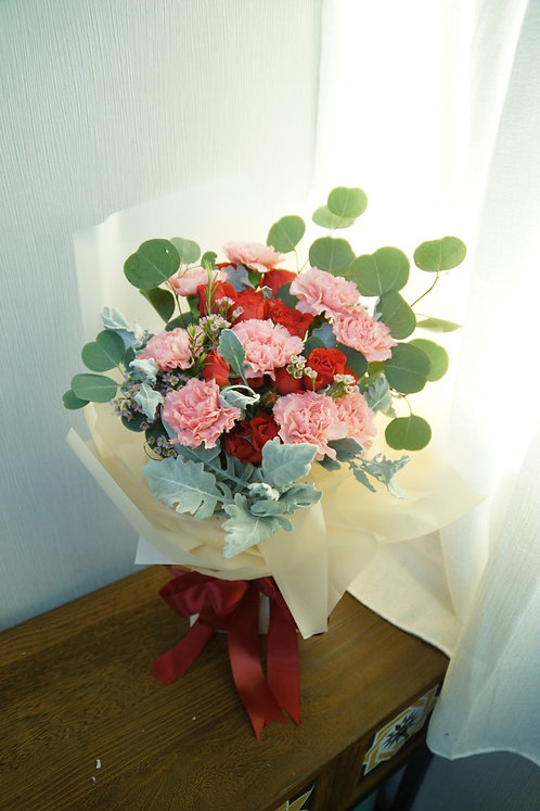Mother's Day 康乃馨花束 Carnation bouquet MDB2020-2