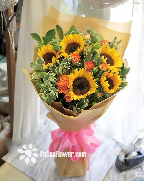 向日葵花束 Sunflower bouquet SF506