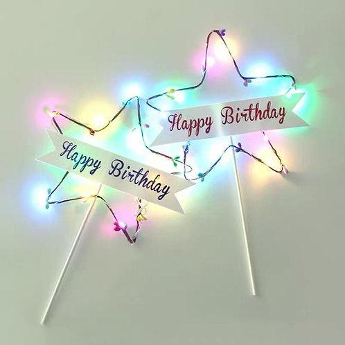 生日燈牌 Happy Birthday tag with LED