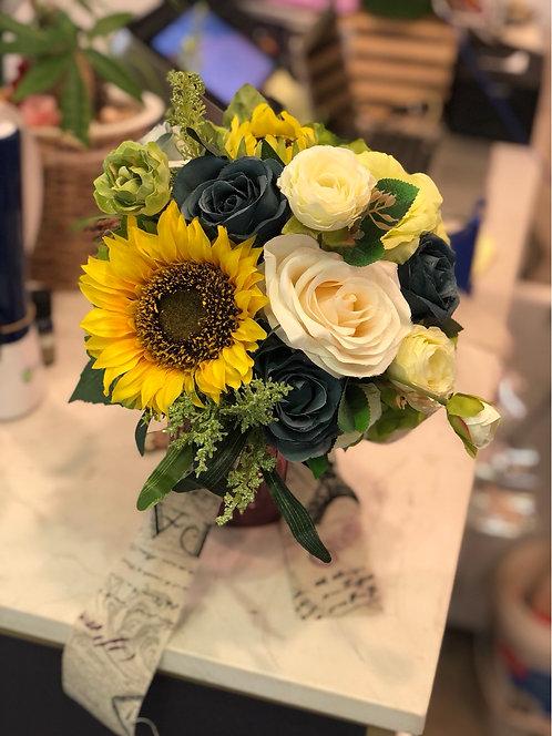 絲花花球 silk flower bouquet 05