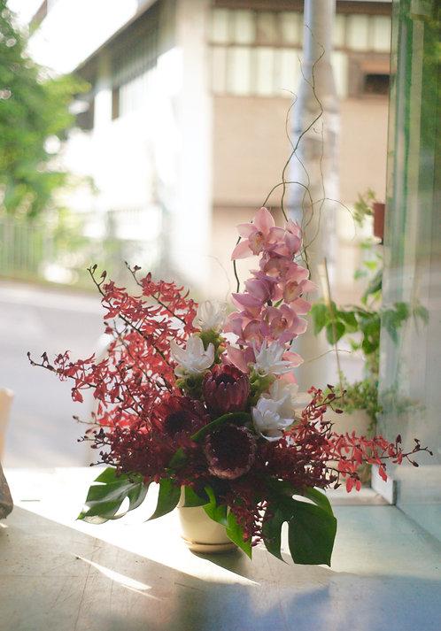 座枱鮮花擺設 Table Floral TT-CY-LH-01