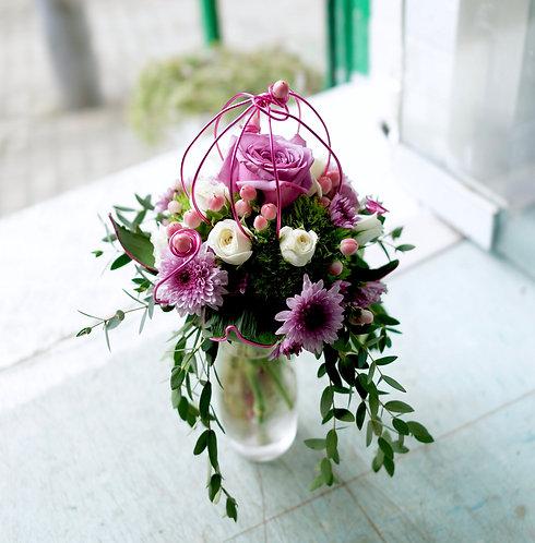 座枱鮮花擺設 Table Floral TT-RO-SA-02
