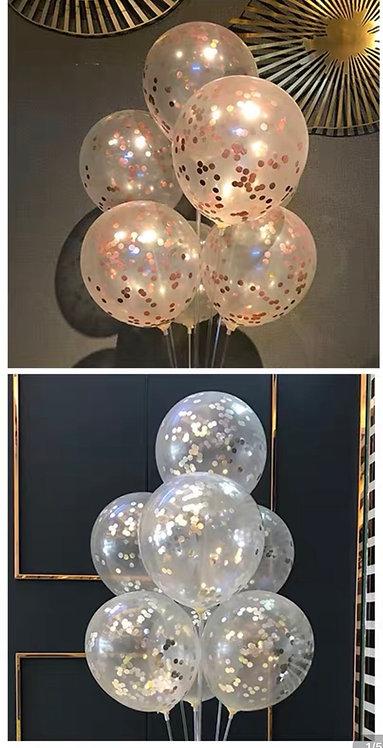 亮片氣球1個