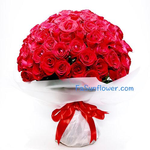 X'mas Price 99/108 玫瑰花束 7 Roses Bouquet 7 XRE99