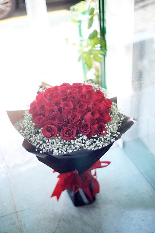 51枝紅玫瑰求婚花束 51 Roses bouquet RE-BK51B