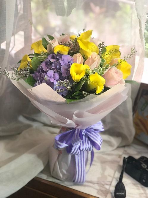 Calla lily Bouquet 馬蹄蘭花束 BQ-YCLHY10