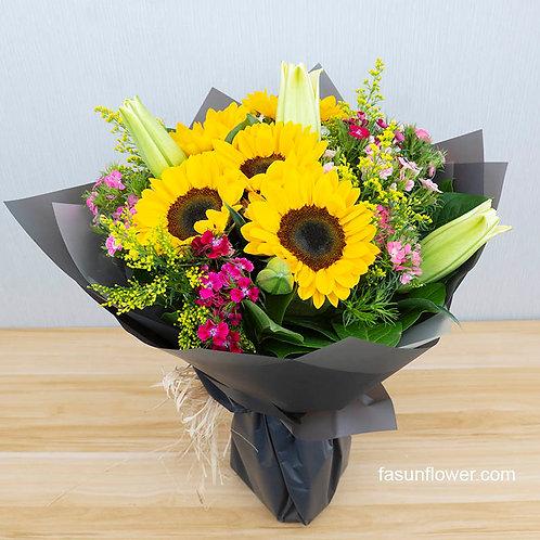 向日葵花束 Sunflower bouquet SF505
