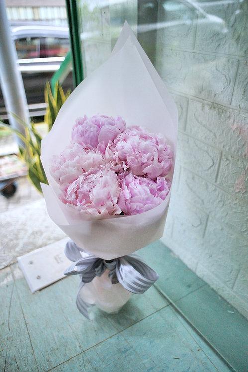 牡丹花束 Peony bouquet PKPEONY5 (需先向我們查詢)