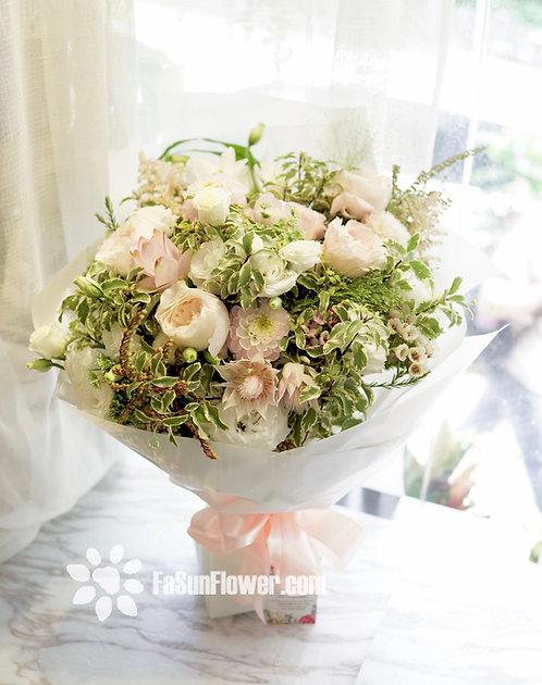 White Gardener Bouquet WGR1(必須預訂)