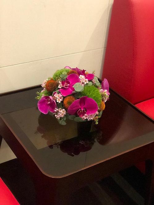 座枱鮮花擺設 Table Floral TT-OR-CH-01