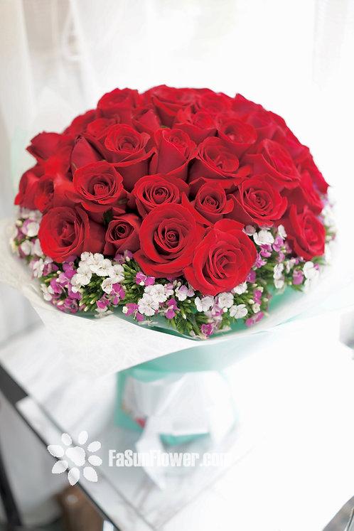 51枝紅玫瑰求婚花束 51 Roses bouquet RE-TB51F