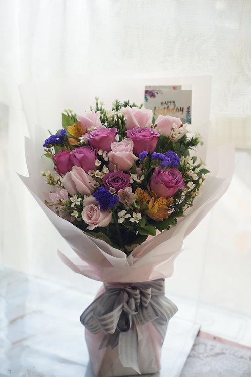 小百合經典花束 Alstroemeria Classic Bouquet PPPUAB1