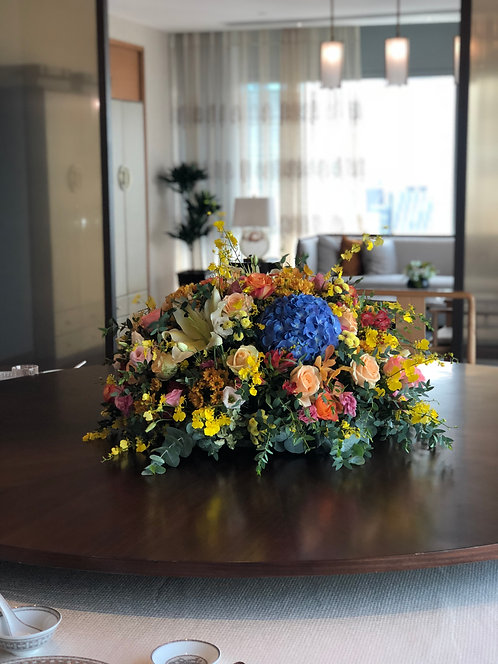 座枱鮮花擺設 Table Floral TT-MIX-LP-01