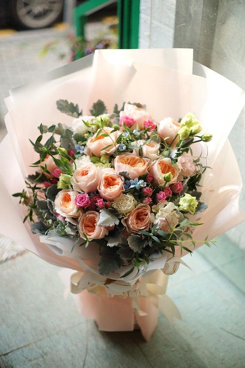 庭園玫瑰小玫瑰花束 Garden Roses Sprayroses bouquet GDPSR10
