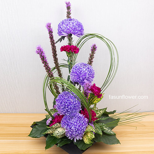 座枱鮮花擺設 Table Floral TT-CH-FG-01
