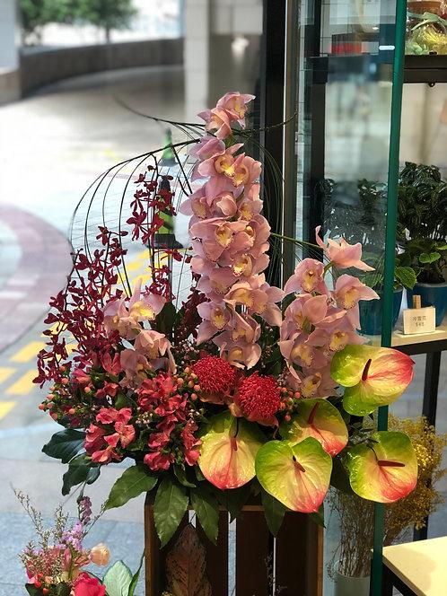 座枱鮮花擺設 Table Floral TT-CYFL-LH-01