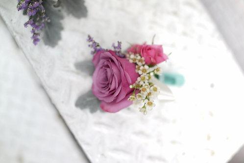 四個鮮花襟花套裝 Rose corsage x4 RCORPUR