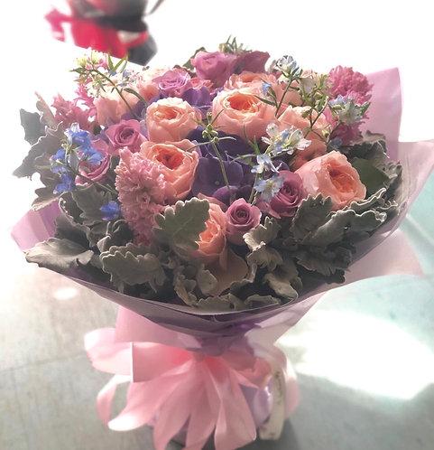 Garden Roses Bouquet 庭園玫瑰花束 BQ-GJF10