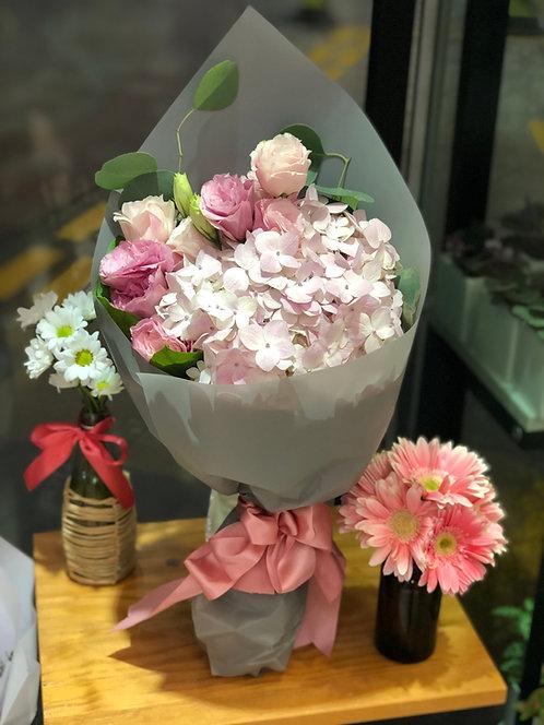 繡球花束 Hydrangea Bouquet BQ-PI1HY