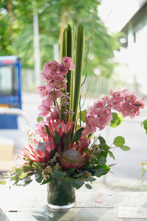 座枱鮮花擺設 Table Floral TF-ButterflyQueen