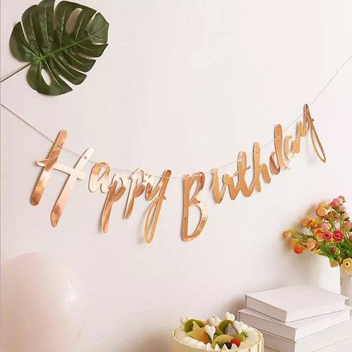 Happy birthday 拉旗