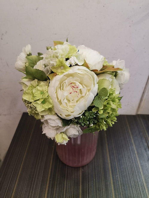 絲花花球 silk flower bouquet O