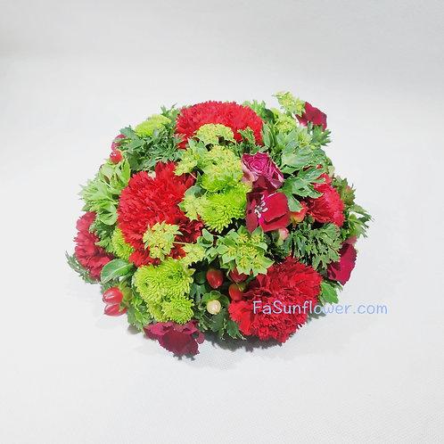 座枱鮮花擺設 Table Floral TT-CA-CH-01