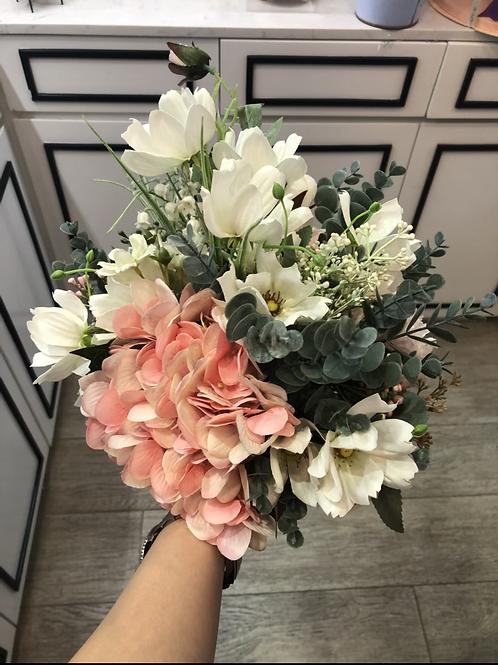 絲花花球 silk flower bouquet 09