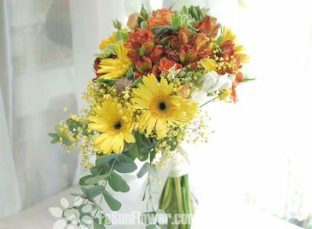 花球 wedding bouquet by Fasunflower