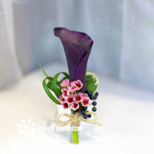 四個鮮花襟花套裝 Rose corsage x4 CCF01