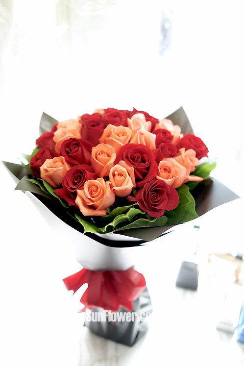 38支玫瑰花束 Roses bouquet RPRE-BK38