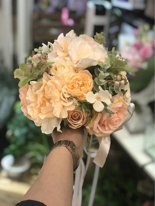 絲花花球 silk flower bouquet 10