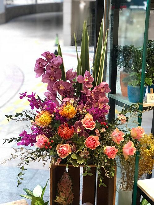 座枱鮮花擺設 Table Floral TT-MIX-WA-01