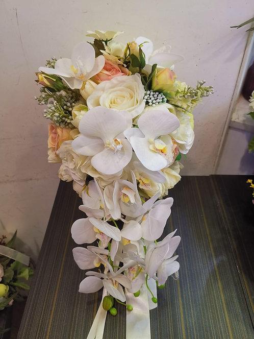 絲花花球 silk flower bouquet 07