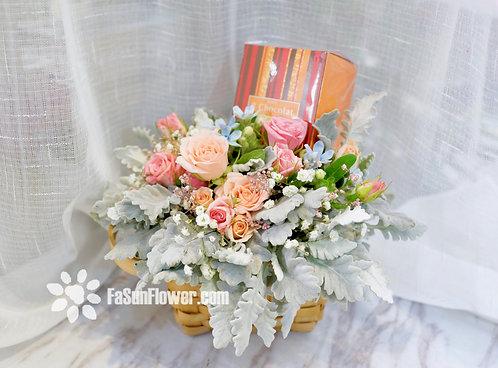 Flowers Hamper FOM1
