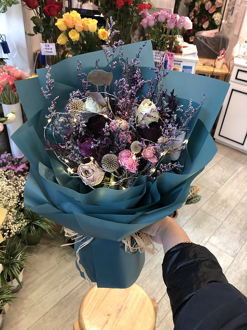 乾花花束 Dry Flower Bouquet B