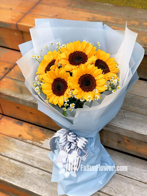 向日葵花束 Sunflower Bouquet SF5WF