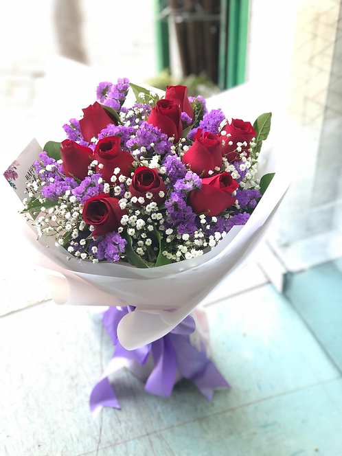 Red Rose Bouquet 紅玫瑰花束 RECB10B
