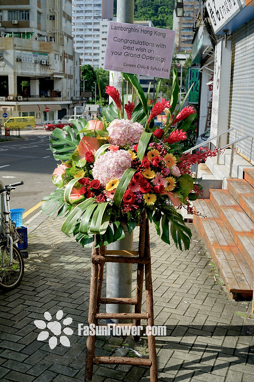開張花籃。熱帶果園  Grand Opening Basket Tropical Orchard