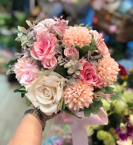 絲花花球 silk flower bouquet 11