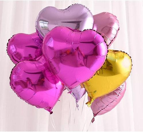 18吋心型鋁膜氣球 (多色可選)Heart Shape Balloon HSB2
