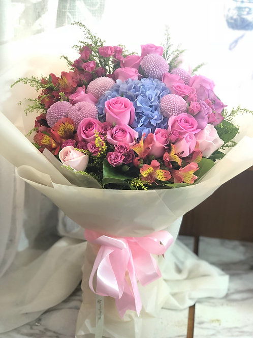 韓式可愛花束 Korean Style bouquet KKS02