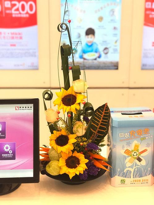 座枱鮮花擺設 Table Floral TT-SF-FG-01