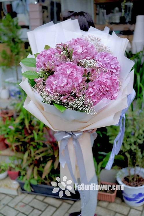 繡球巨型花束 Giant Hydrangea bouquet GIHY05XLM