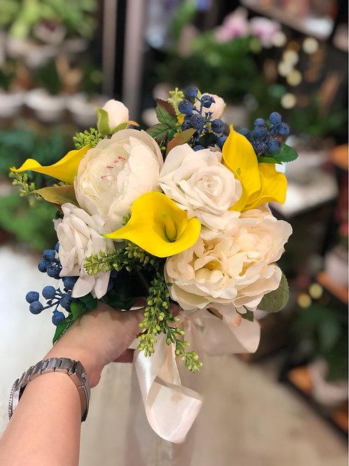 絲花花球 Silk flower bouquet 28